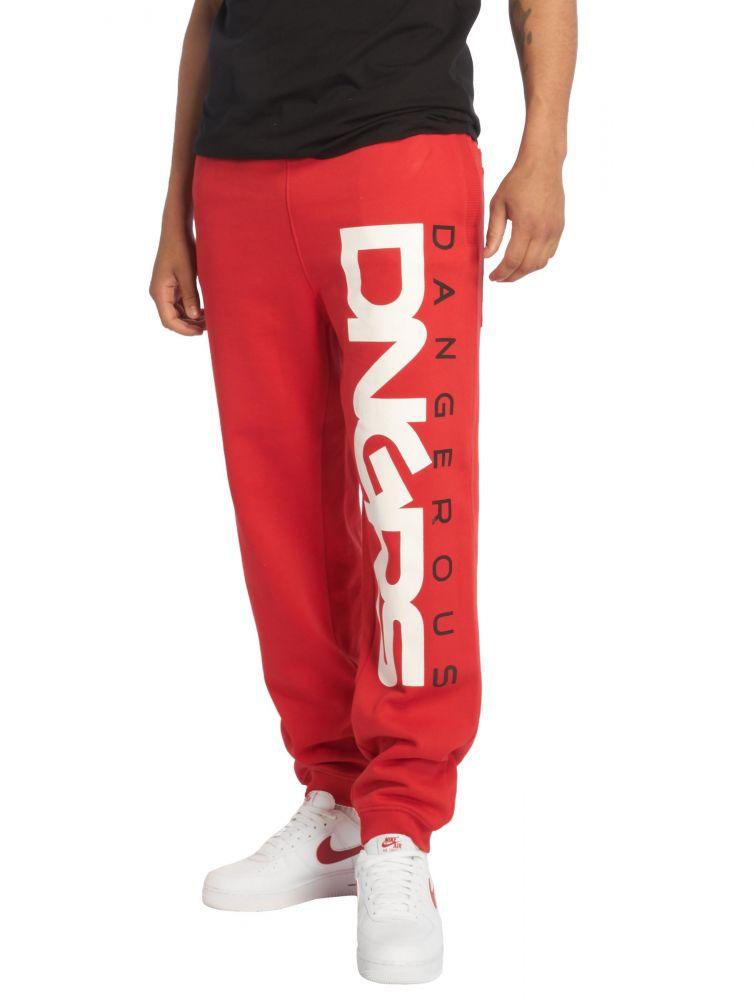 Spodnie dresowe Dangerous Classic czerwone
