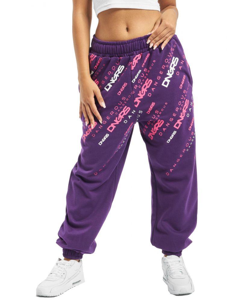 Spodnie dresowe Dangerous Down to Earth Fiolet
