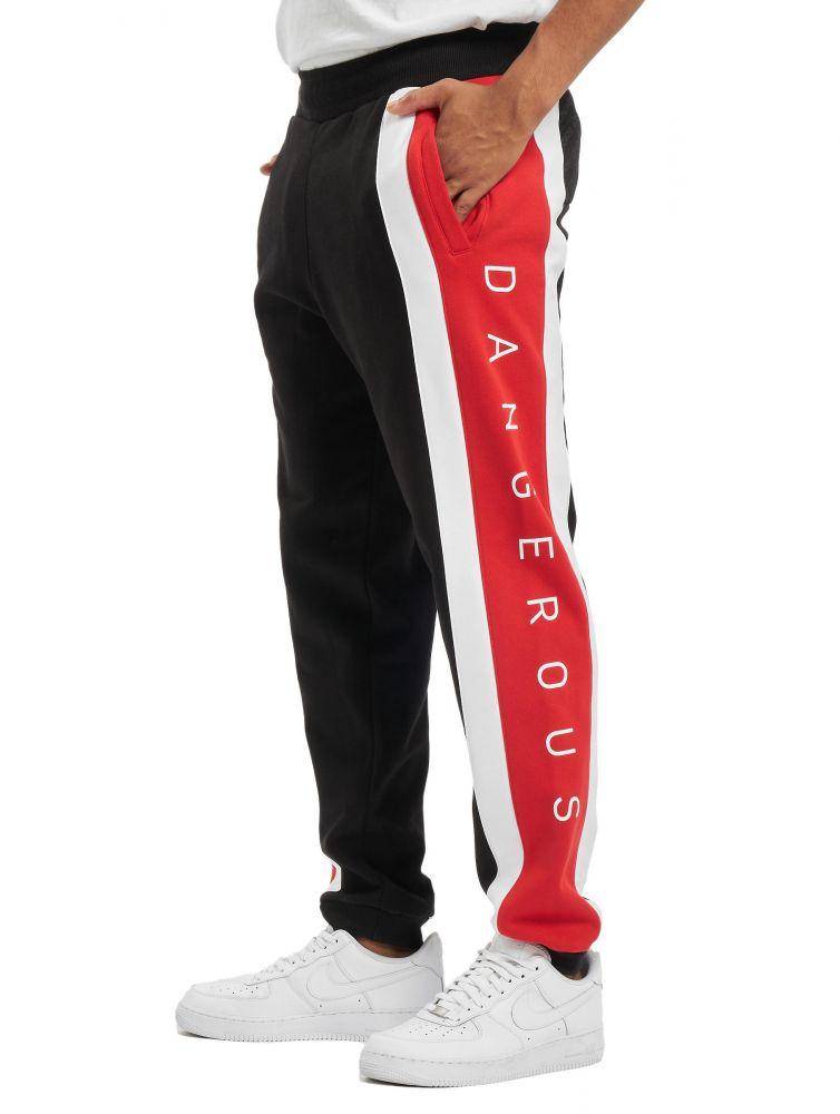 Dangerous DNGRS / Sweat Pant Fossa in black