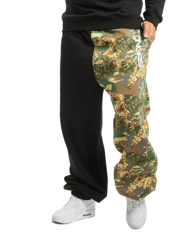 Spodnie dres Dangerous Two-Face czarne z camo