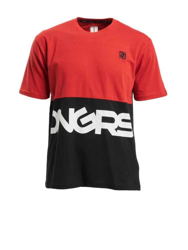 Koszulka męska Dangerous Neurotic czerwona