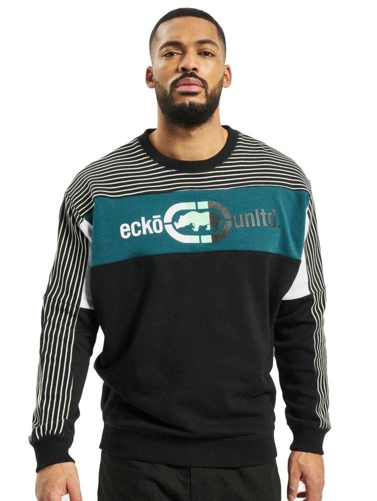 Bluza bez kaptura Ecko Unltd. Crains czarna