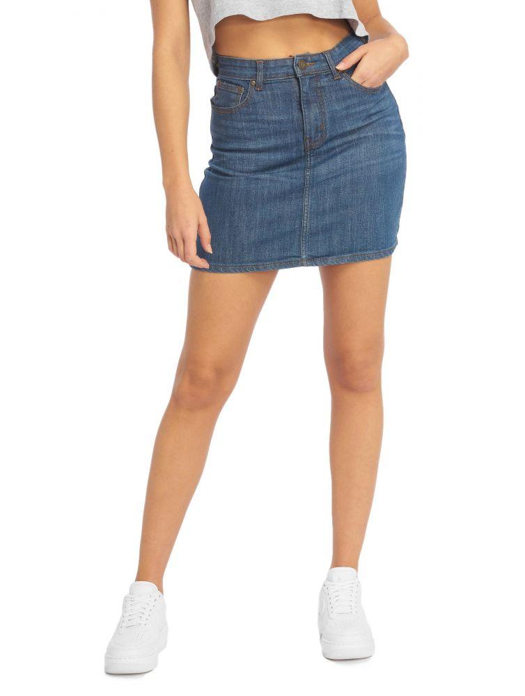 Spódnica Just Rhyse Roseville jeans niebieska