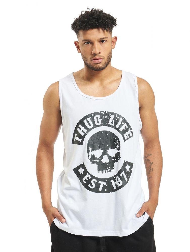 Koszulka Tank Top Thug Life B.Distress biała