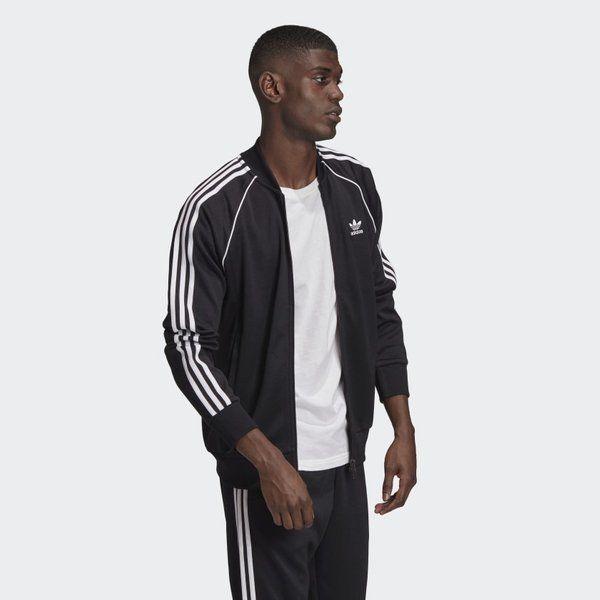 Bluza adidas originals classics primeblue sst track (gf0198) black/white