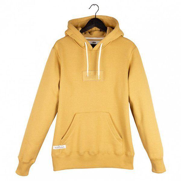 Bluza elade hoodie box logo beige