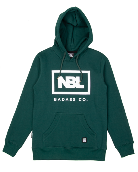 Bluza new bad line hoody icon green