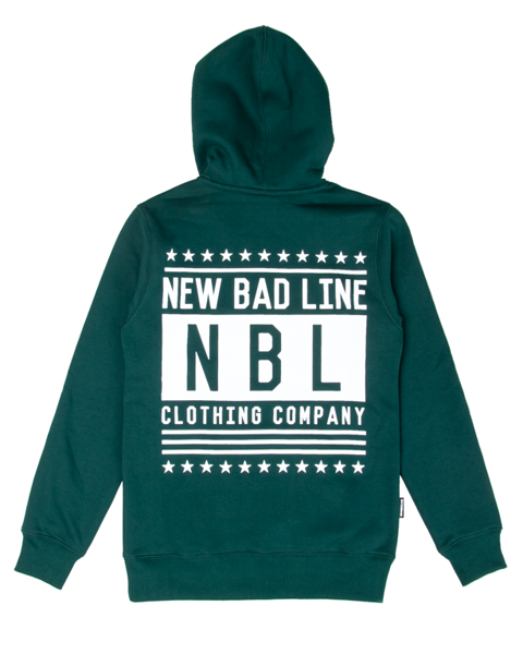 Bluza new bad line hoody swag green
