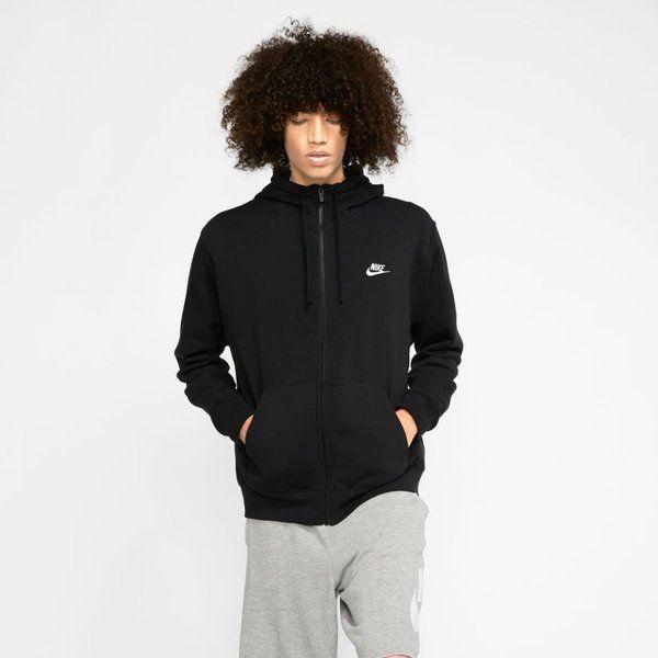 Bluza nike sportswear club fleece (bv2645-010) black/black/white