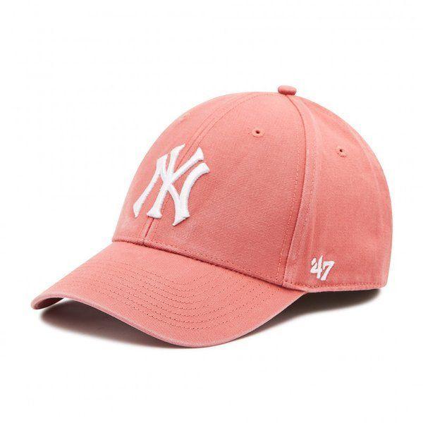 Czapka 47' mlb new york yankees clean up (island red)