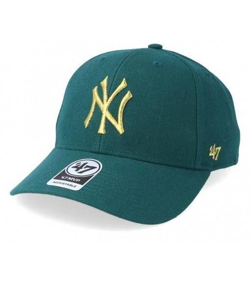 Czapka 47' mlb new york yankees metallic (b-mtlcs17wbp-pg) pacific green