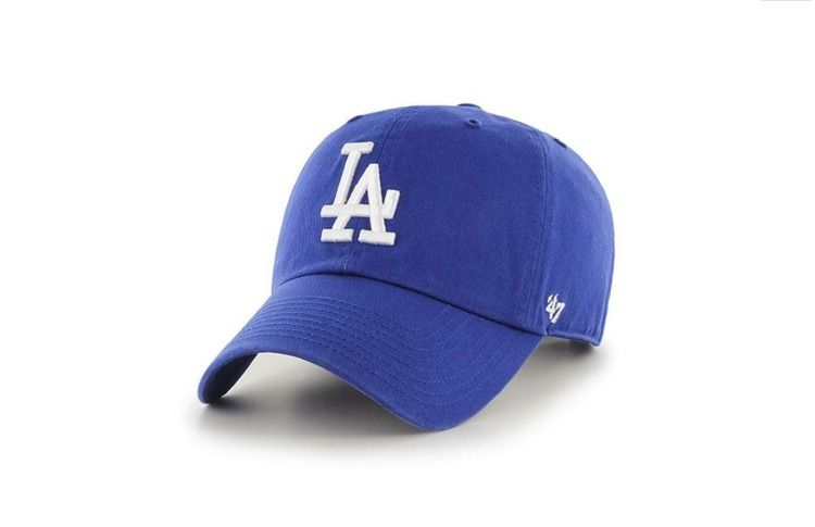 Czapka mlb los angeles dodgers '47 brand clean up blue