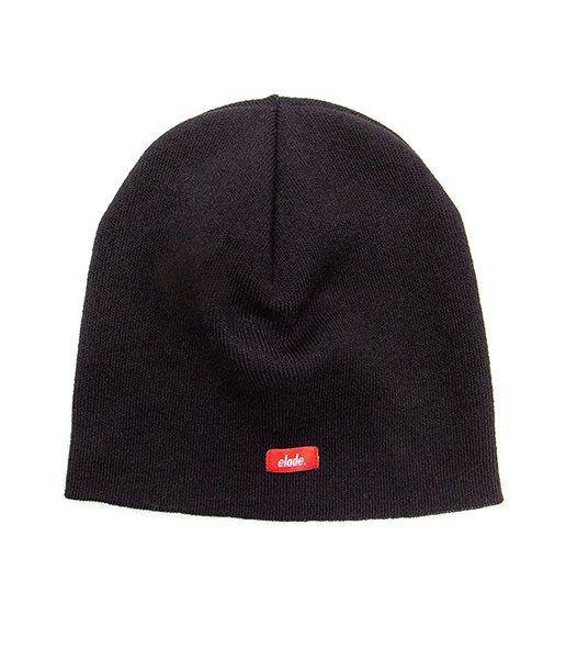 Czapka zimowa elade skinny winter hat black