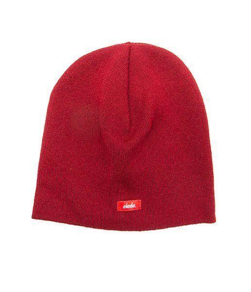 Czapka zimowa elade skinny winter hat maroon