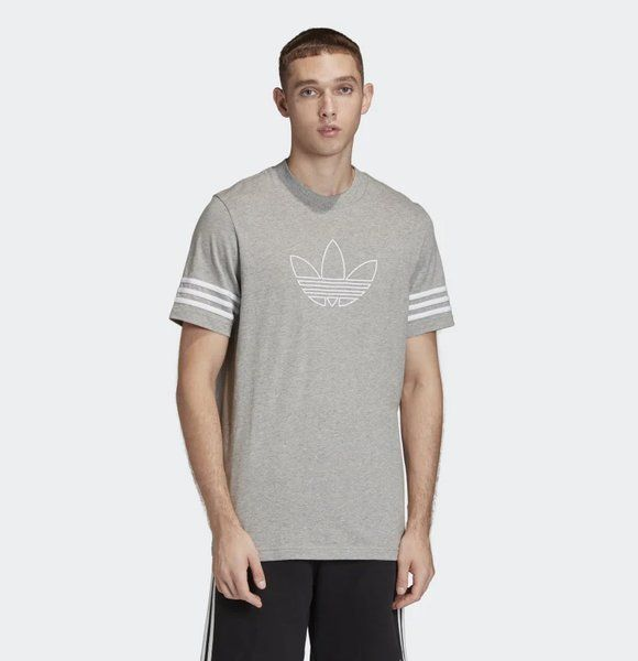 Koszulka adidas outline tee (fm3895) medium grey heather