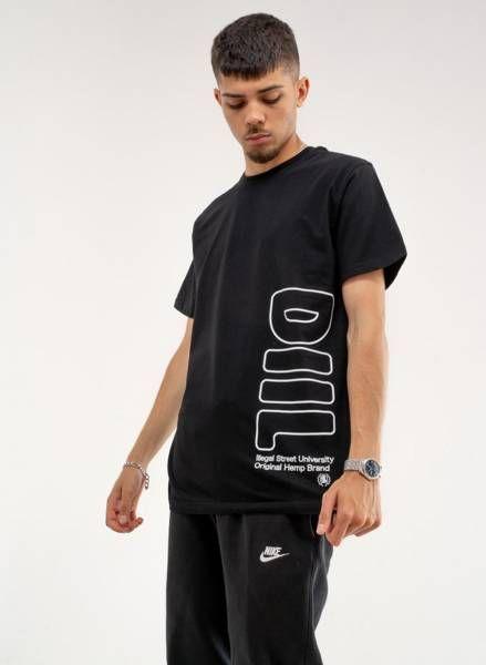 Koszulka diil oversize (dts1101) black