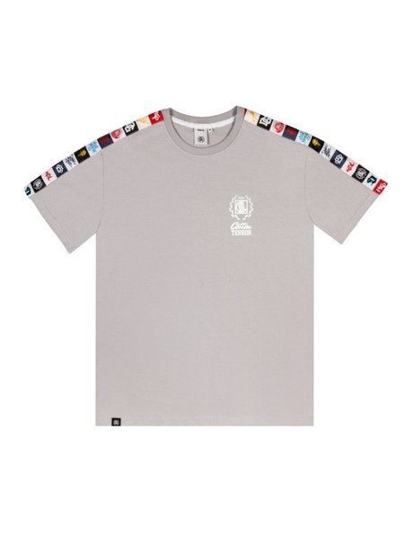 Koszulka diil stamp stamp szary dts1019