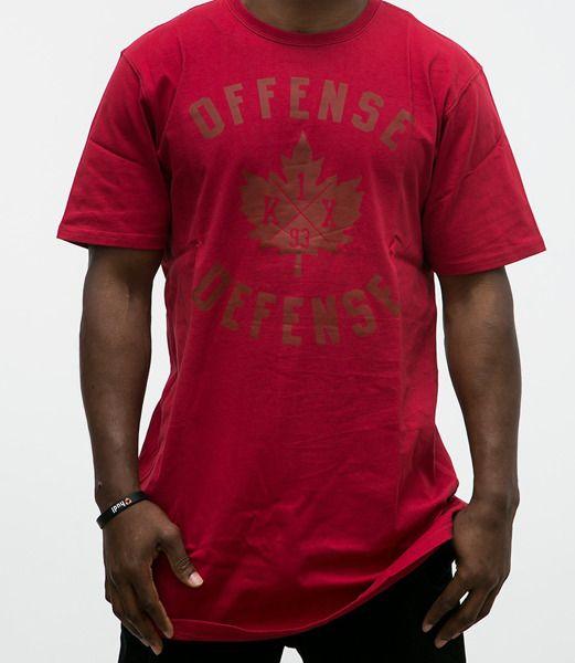 Koszulka k1x o.d long tee x red red