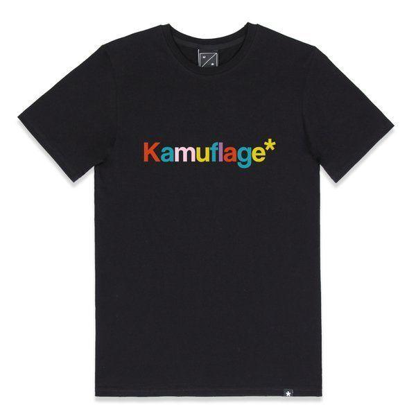 Koszulka  kamuflage candy black