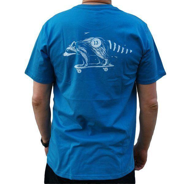 Koszulka malita raccoon blue