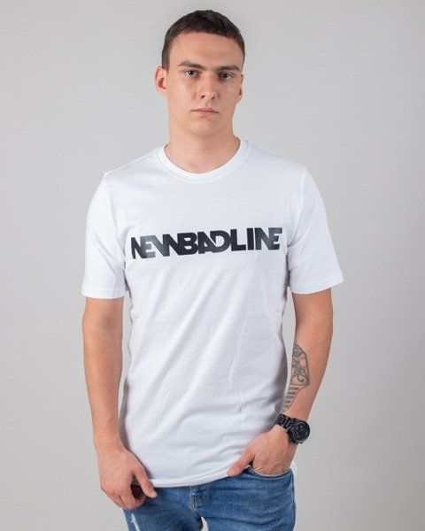 Koszulka new bad line classic white
