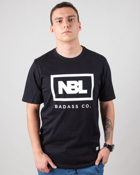 Koszulka new bad line icon black