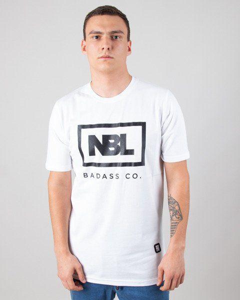 Koszulka new bad line icon white