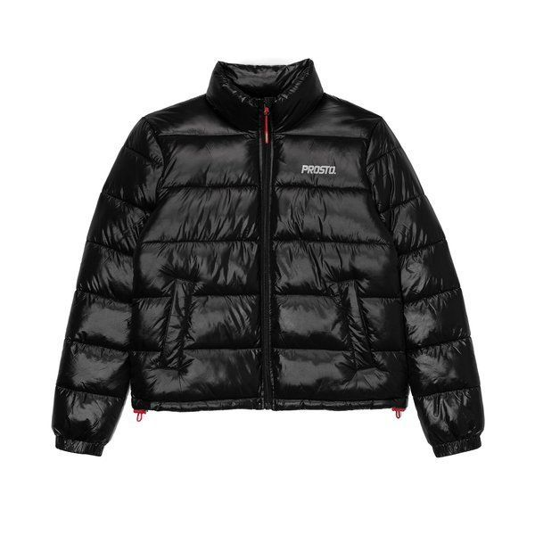 Kurtka prosto damska puffy jacket black