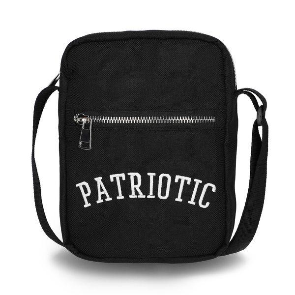 Listonoszka patriotic patch black