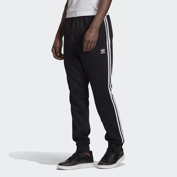 Spodnie adidas adicolor classics primeblue sst track (gf0210) black / white