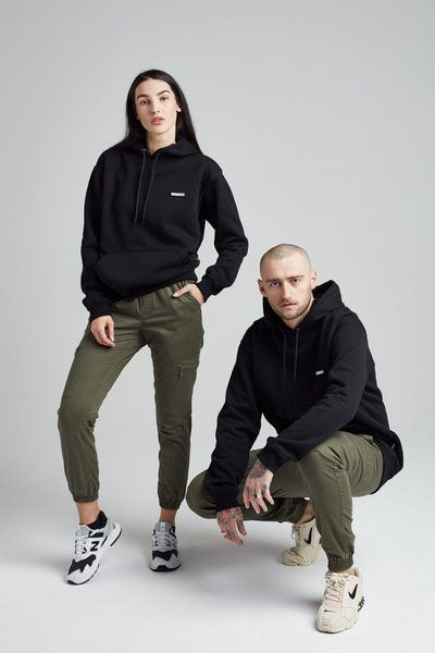 Spodnie diamante wear 'diamante crew' cargo - unisex - khaki