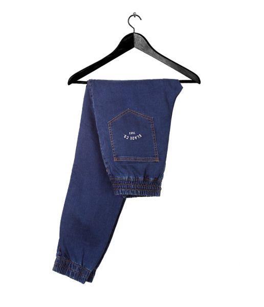 Spodnie elade jogger baggy ii dark denim
