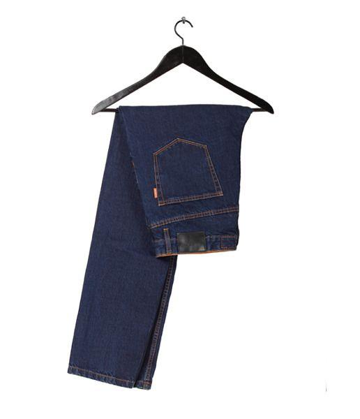 Spodnie elade selvedge blue denim