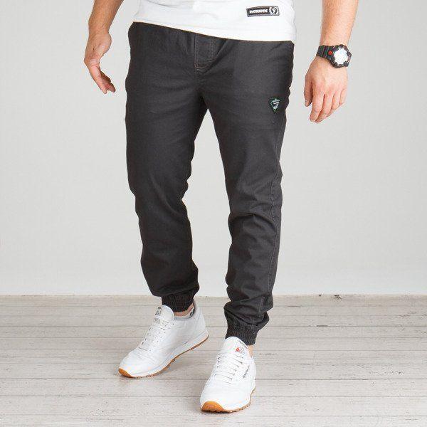 Spodnie grube lolo jogger (grafit)