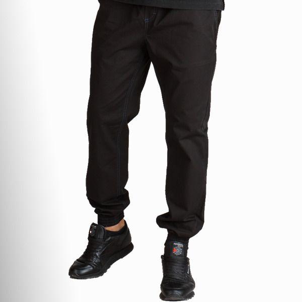 Spodnie haze jogger chino black