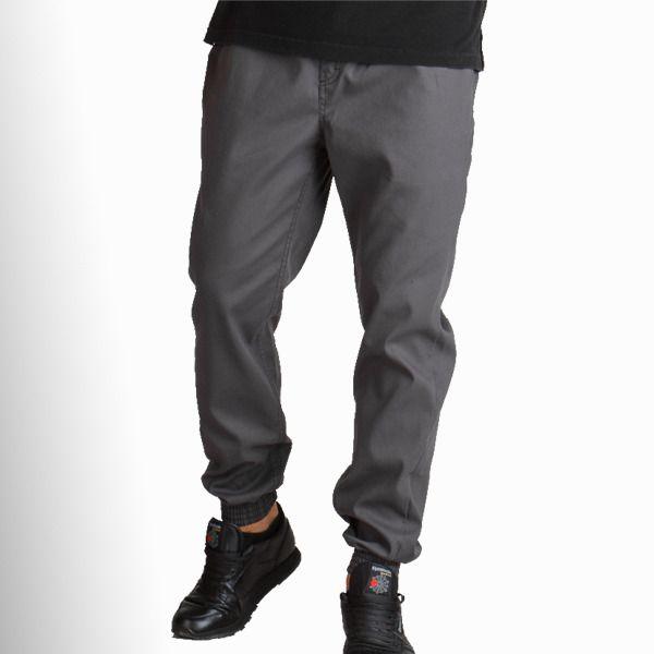 Spodnie haze jogger chino graphite