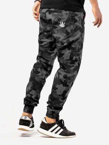 Spodnie jigga wear jogger grey camo