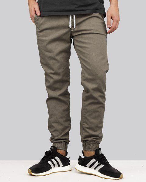 Spodnie jigga wear jogger stone gray