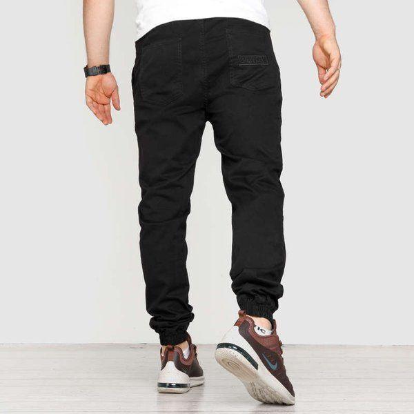 Spodnie jogger high life hl haft black