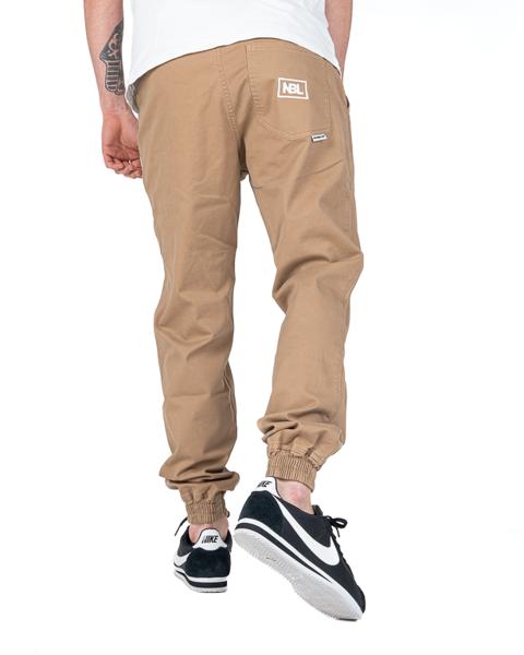 Spodnie new bad line jogger icon camel
