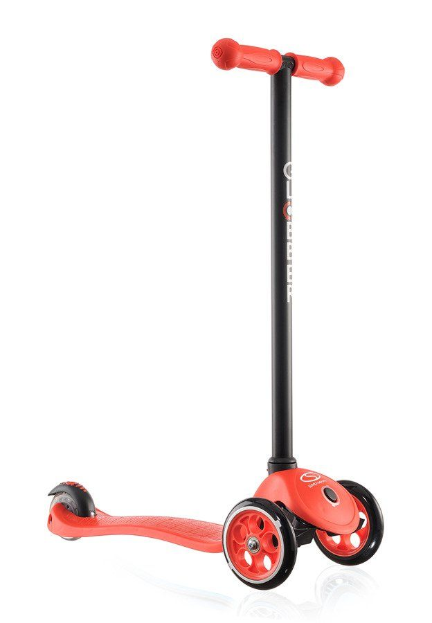 Hulajnoga 3-kołowa globber dla dziecka czerwona