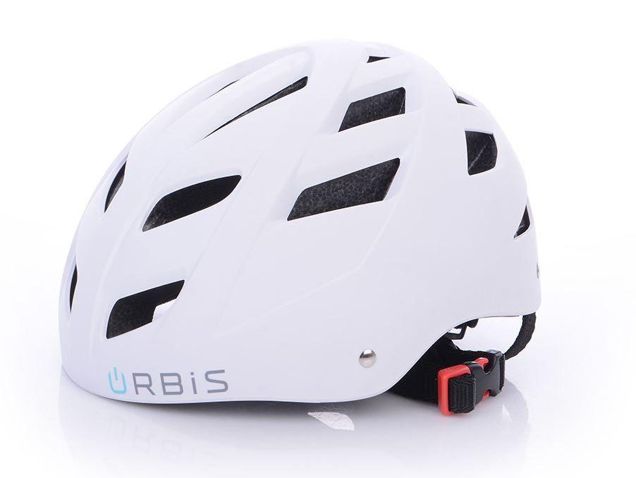 Kask Urbis Biały na hulajnogę elektryczną rower