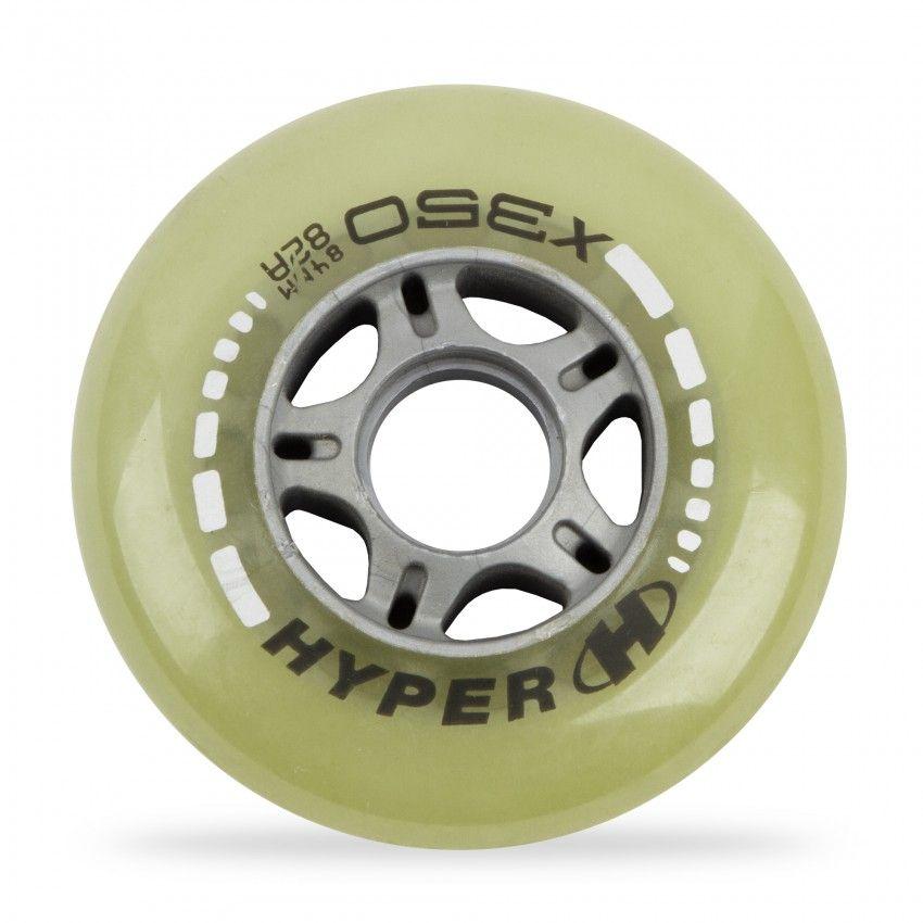 Kółka hyper x350 pu 82a clear