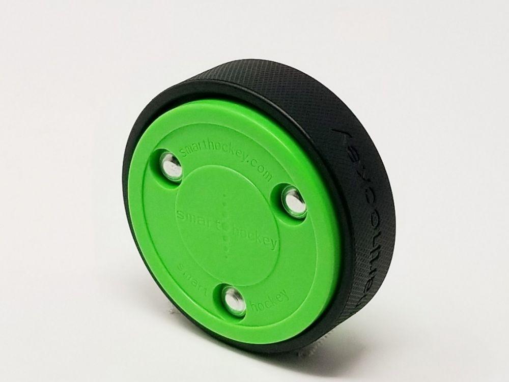 Krążek hokejowy in-line smart hockey zielony