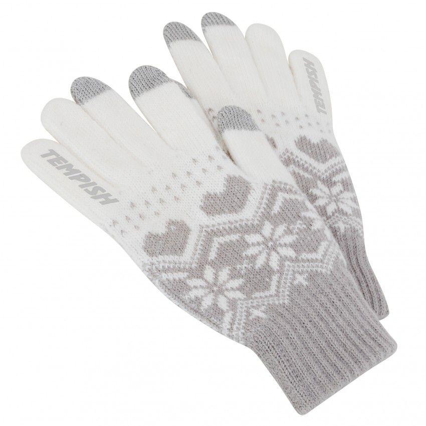 Rękawiczki Tempish Touchscreen białe damskie HHS