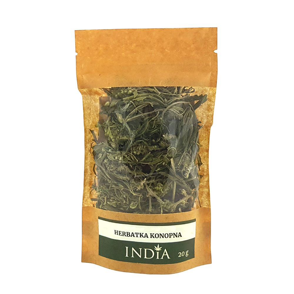 Herbatka Ziołowa CBD z konopi India Sativa L 20g