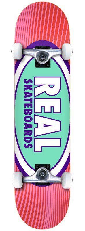Deska kompletna Real Oval Rays 8.0