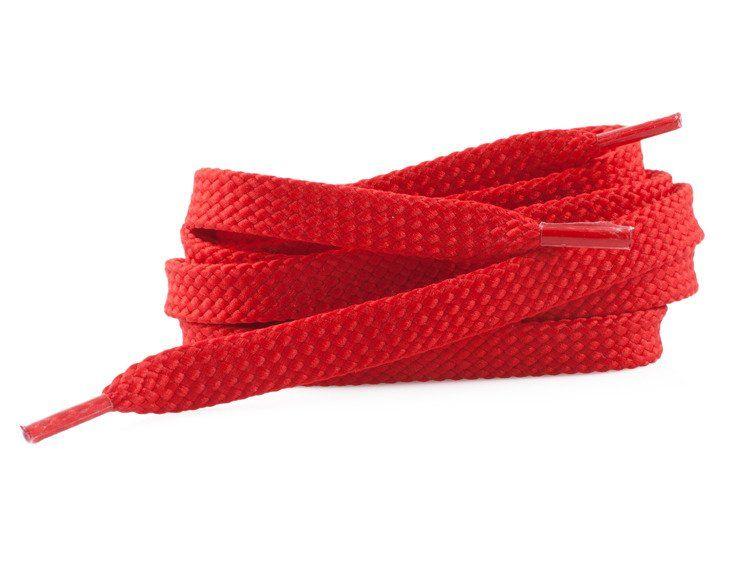Sznurówki figurowe CH&B TEMPISH czerwone Dł.