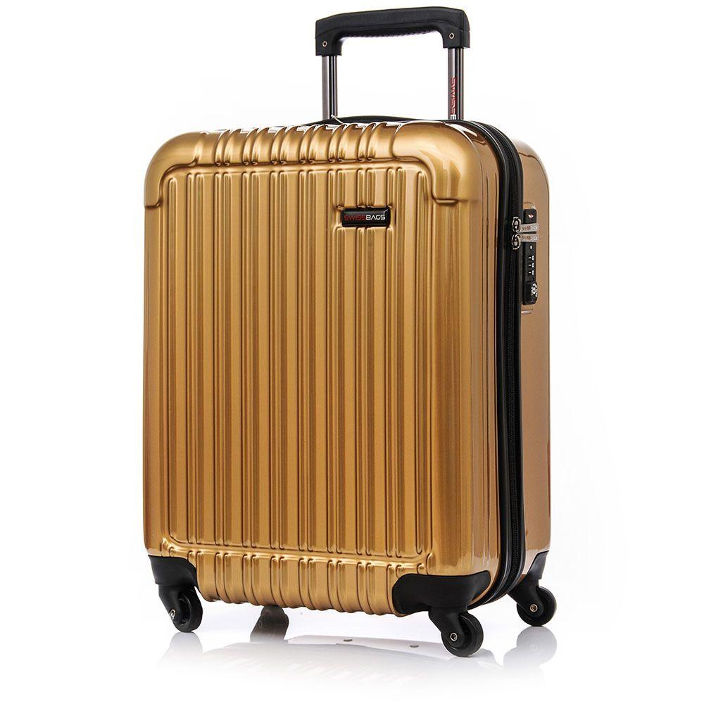 Walizka Kabinowa Swissbags Q-Box S 52cm MIEDŹ