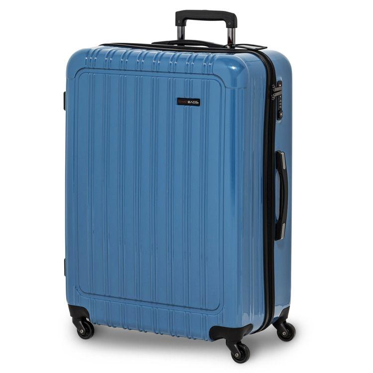 Walizka Swissbags Q-Box M 65cm BLU